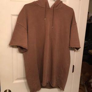 Pac Sun short sleeve hoody